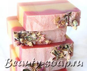 Рецепт взбитого мыла «Персиковый десерт»