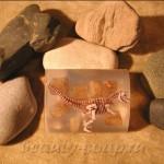 """Скульптурное мыло """"Динозавр"""": фотография"""