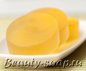 Рецепт прозрачного мыла «Сочный апельсин»