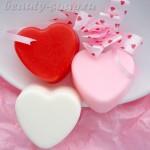 Картинка: мыло на День Святого Валентина