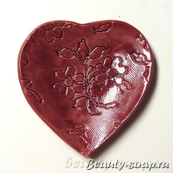 Мыло-сердечко на День Святого Валентина