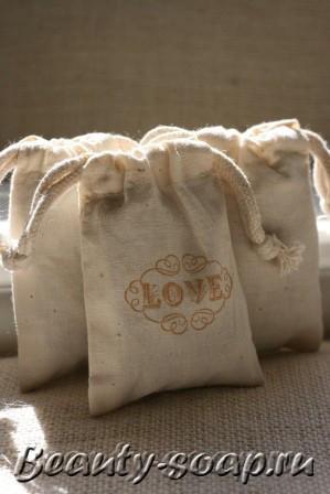 Мешочки для мыла ручной работы