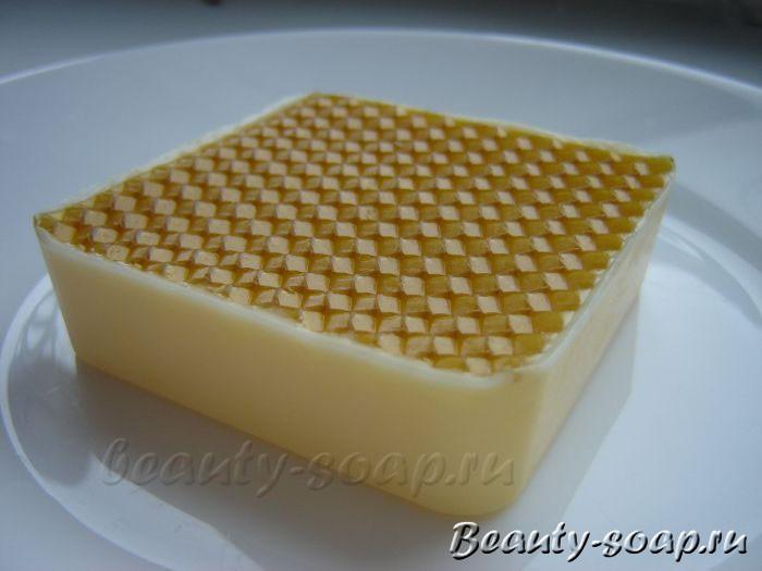Мыло с вощиной