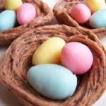 Разноцветные яйца из мыла