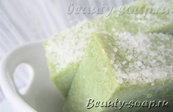 Мыло с морской солью