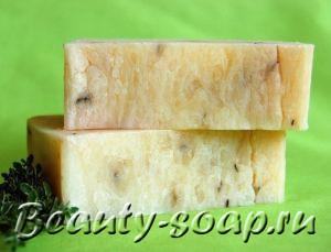 Рецепт мыла с медом и листьями брусники