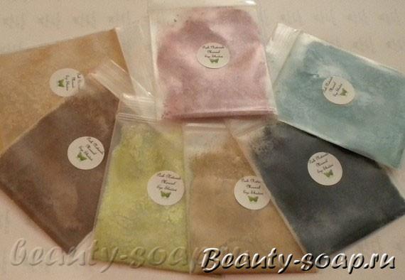 Косметические красители для мыла