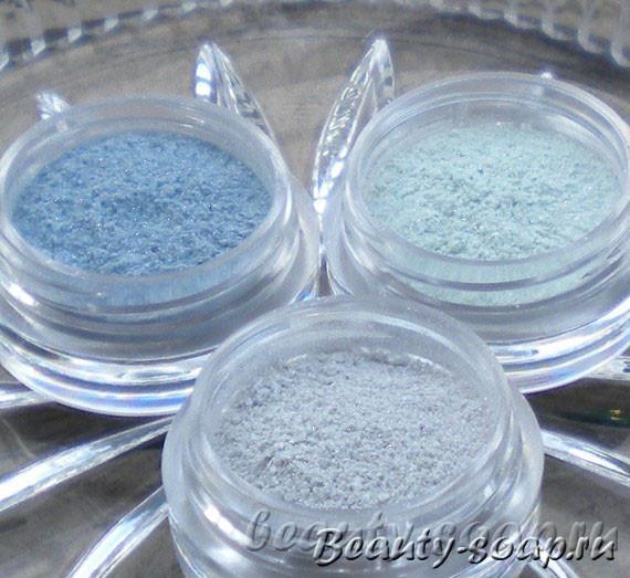 Косметический перламутр для мыла