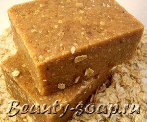 Рецепт медово-овсяного мыла (2-й вариант)