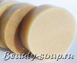 Рецепт мыла «Медовые сливки»