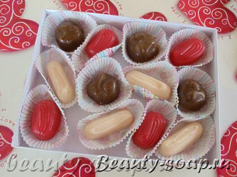 Мыльные сладости, конфеты из мыла