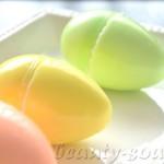 Красочное мыло в форме яйц
