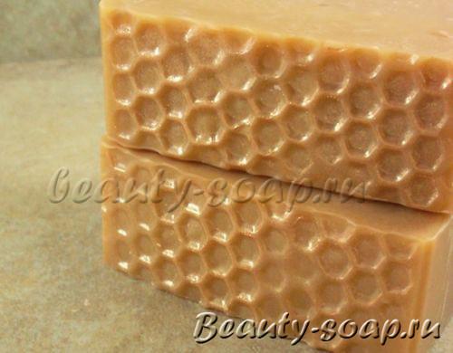 Медовое мыло с молоком