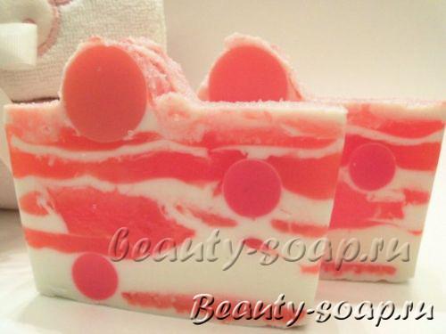 Оригинальное клубничное мыло