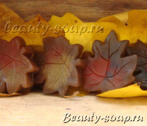 Мыло листья фото