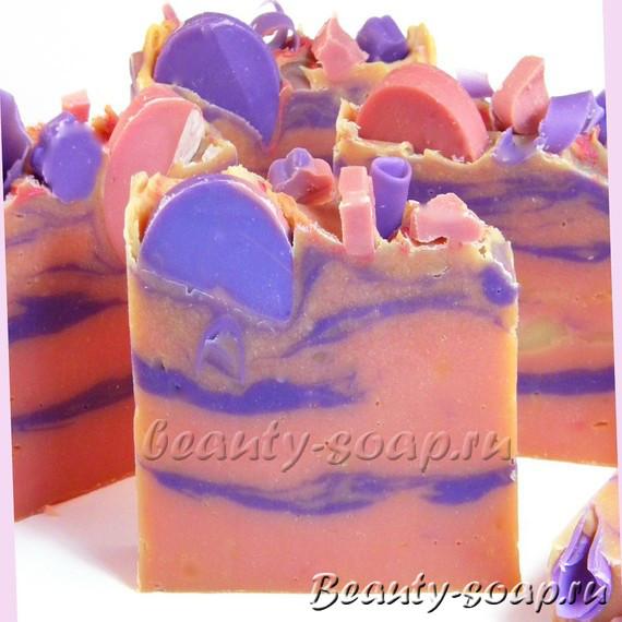 Цветное мыло своими руками