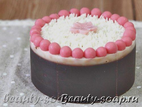 Мыло-торт из основы, фото