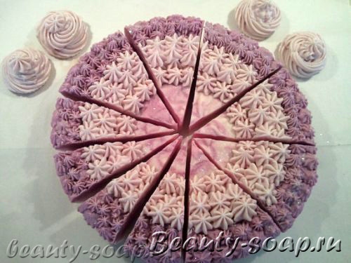 Мыло торт
