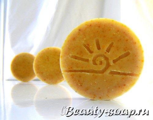 Мыло с ромашкой