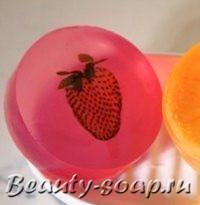 Делаем фруктовое мыло!