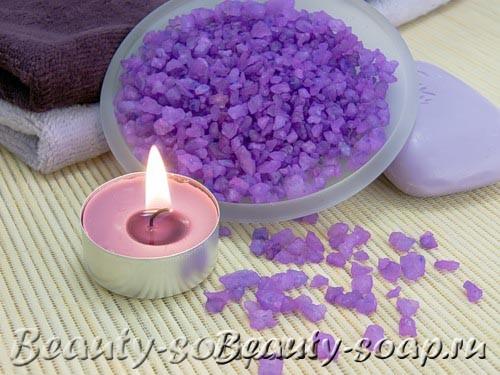 Рецепт лавандовой соли для ванны