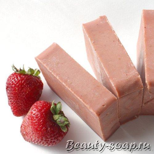 Мыло с фруктовой пудрой