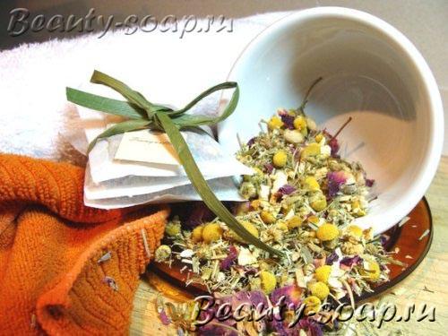 Успокаивающий чай для ванной