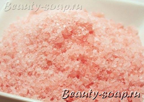 Рецепт соли для ванны