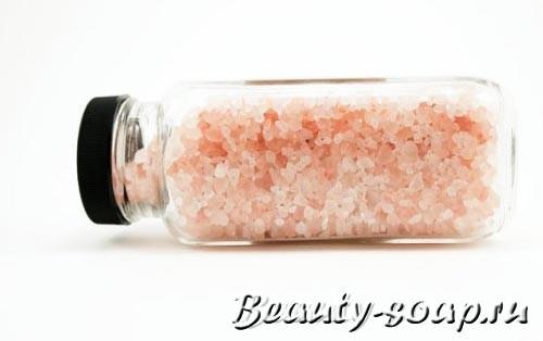Как сделать соль для ванн