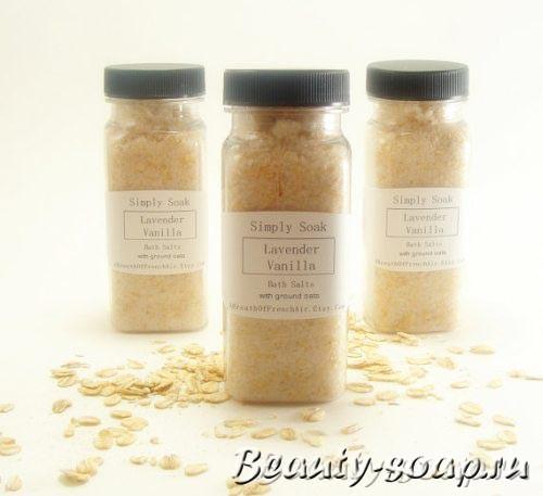 Рецепт соли для ванной с фото