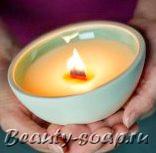 Как сделать массажную свечу