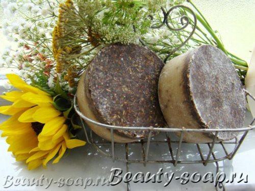 Мыло-скраб с травами