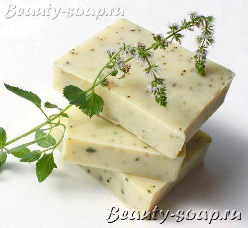 Мыло с травами