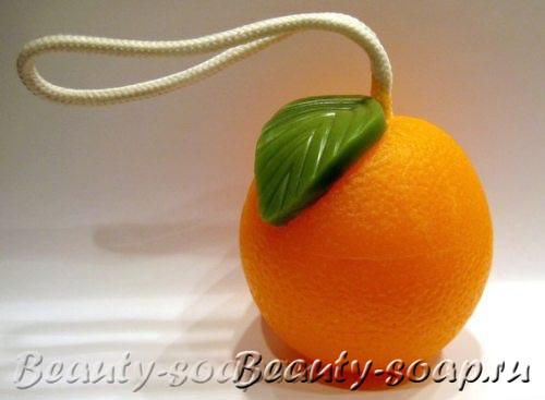 Фруктовое мыло Апельсин