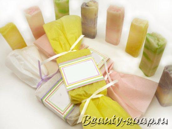 Ароматное подарочное мыло