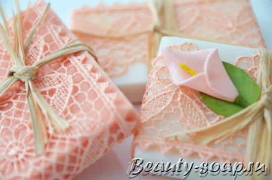Красивое подарочное мыло