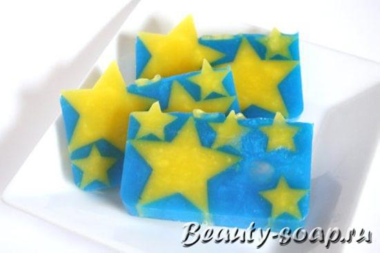 Подарочное мыло Звездочки