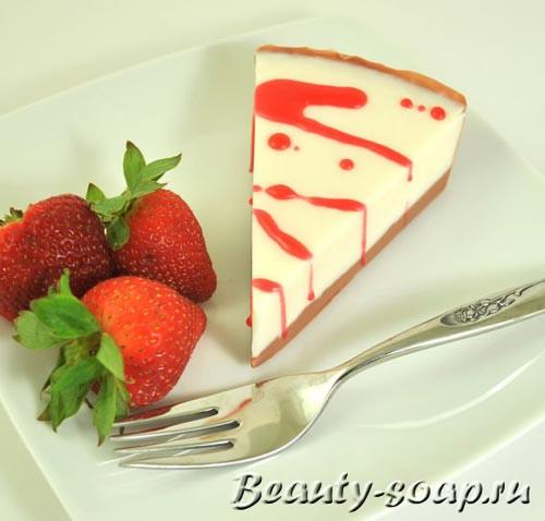 Мыло пирожное, мастер-класс и фото