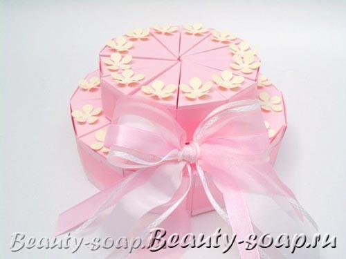 Торт из коробочек