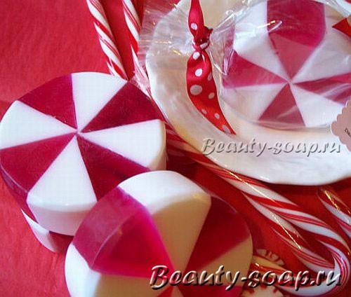 Как сделать рождественское мыло