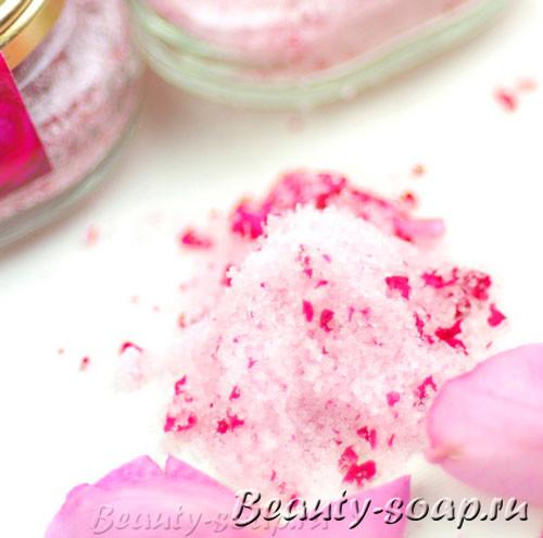 Фото красивой цветной соли