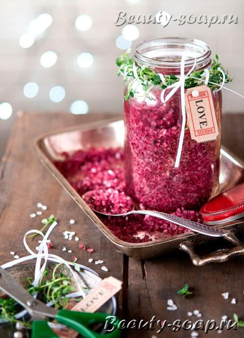 Как сделать цветную соль, фото