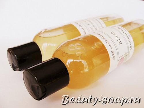 Использование жидкой основы для мыла