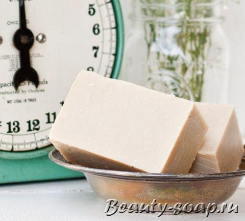 Как сделать мыло с белой глиной?