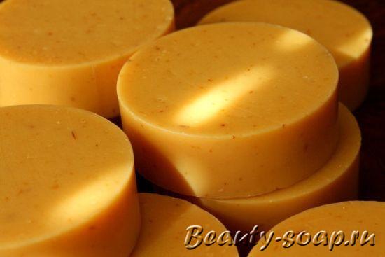 Мыло с облепиховым маслом, фото