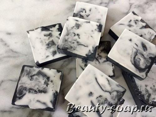 Мыло с углем в домашних условиях: мастер-класс по изготовлению
